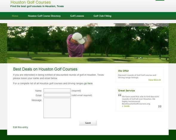 free-golf-wordpress-theme